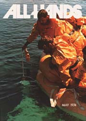 All Hands; May 1974 Volume 53, Issue 622 by Navy Department, Bureau of Navigation