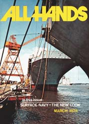 All Hands; March 1975 Volume 54, Issue 632 by Navy Department, Bureau of Navigation