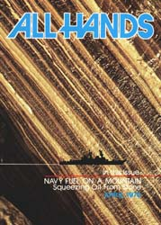 All Hands; April 1975 Volume 54, Issue 633 by Navy Department, Bureau of Navigation