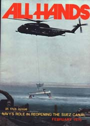 All Hands; February 1976 Volume 55, Issue 643 by Navy Department, Bureau of Navigation
