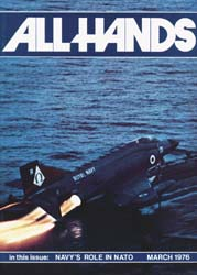 All Hands; March 1976 Volume 55, Issue 644 by Navy Department, Bureau of Navigation