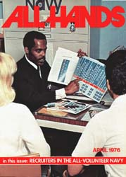 All Hands; April 1976 Volume 55, Issue 645 by Navy Department, Bureau of Navigation
