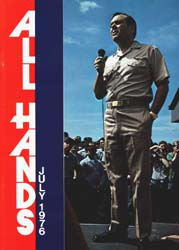 All Hands; July 1976 Volume 55, Issue 648 by Navy Department, Bureau of Navigation