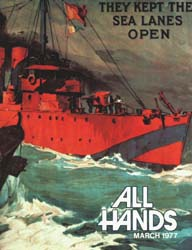 All Hands; March 1977 Volume 56, Issue 656 by Navy Department, Bureau of Navigation