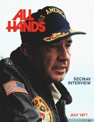 All Hands; July 1977 Volume 56, Issue 660 by Navy Department, Bureau of Navigation