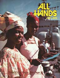 All Hands; July 1978 Volume 57, Issue 672 by Navy Department, Bureau of Navigation