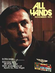 All Hands; November 1979 Volume 58, Issue 688 by Navy Department, Bureau of Navigation