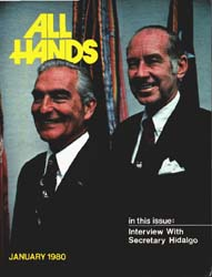 All Hands; January 1980 Volume 59, Issue 690 by Navy Department, Bureau of Navigation