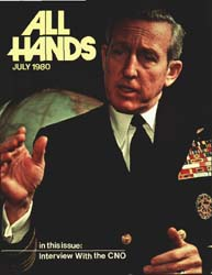 All Hands; July 1980 Volume 59, Issue 696 by Navy Department, Bureau of Navigation