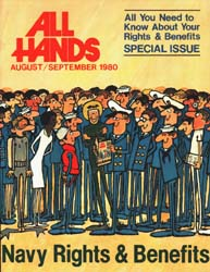 All Hands; September 1980 Volume 59, Issue 698 by Navy Department, Bureau of Navigation