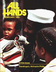All Hands; February 1981 Volume 60, Issue 703 by Navy Department, Bureau of Navigation