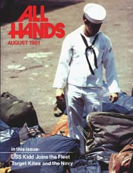 All Hands; August 1981 Volume 60, Issue 709 by Navy Department, Bureau of Navigation