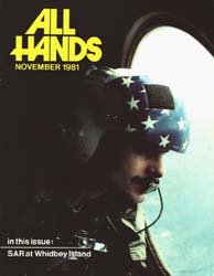 All Hands; November 1981 Volume 60, Issue 712 by Navy Department, Bureau of Navigation