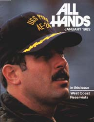 All Hands; January 1982 Volume 61, Issue 714 by Navy Department, Bureau of Navigation
