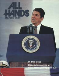 All Hands; March 1983 Volume 62, Issue 728 by Navy Department, Bureau of Navigation