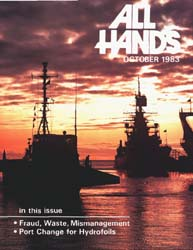 All Hands; October 1983 Volume 62, Issue 735 by Navy Department, Bureau of Navigation