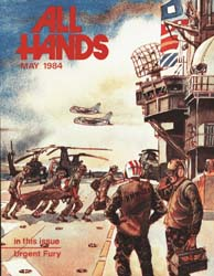 All Hands; May 1984 Volume 63, Issue 742 by Navy Department, Bureau of Navigation
