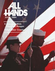 All Hands; June 1984 Volume 63, Issue 743 by Navy Department, Bureau of Navigation