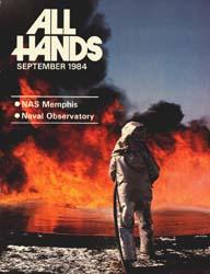 All Hands; September 1984 Volume 63, Issue 746 by Navy Department, Bureau of Navigation