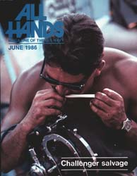 All Hands; June 1986 Volume 65, Issue 767 by Navy Department, Bureau of Navigation