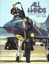 All Hands; July 1986 Volume 65, Issue 768 by Navy Department, Bureau of Navigation