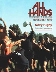 All Hands; November 1986 Volume 65, Issue 772 by Navy Department, Bureau of Navigation