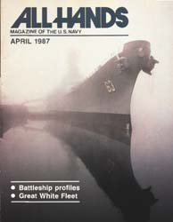 All Hands; April 1987 Volume 67, Issue 777 by Navy Department, Bureau of Navigation