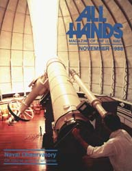 All Hands; November 1988 Volume 68, Issue 796 by Navy Department, Bureau of Navigation