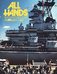 All Hands; February 1989 Volume 69, Issue 799 by Navy Department, Bureau of Navigation