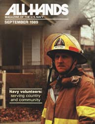 All Hands; September 1989 Volume 69, Issue 806 by Navy Department, Bureau of Navigation