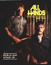 All Hands; May 1990 Volume 70, Issue 814 by Navy Department, Bureau of Navigation