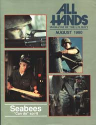 All Hands; August 1990 Volume 70, Issue 817 by Navy Department, Bureau of Navigation