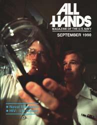 All Hands; September 1990 Volume 70, Issue 818 by Navy Department, Bureau of Navigation
