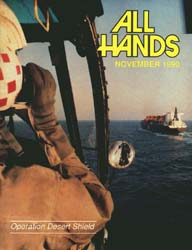 All Hands; November 1990 Volume 70, Issue 820 by Navy Department, Bureau of Navigation