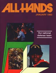 All Hands; January 1993 Volume 73, Issue 846 by Navy Department, Bureau of Navigation