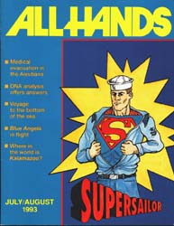 All Hands; August 1993 Volume 73, Issue 853 by Navy Department, Bureau of Navigation