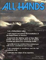 All Hands; January 1994 Volume 74, Issue 858 by Navy Department, Bureau of Navigation