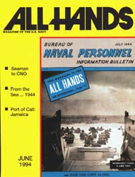 All Hands; June 1994 Volume 74, Issue 863 by Navy Department, Bureau of Navigation