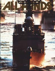 All Hands; November 1994 Volume 74, Issue 868 by Navy Department, Bureau of Navigation