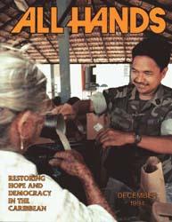 All Hands; December 1994 Volume 74, Issue 869 by Navy Department, Bureau of Navigation