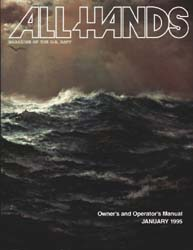 All Hands; January 1995 Volume 75, Issue 870 by Navy Department, Bureau of Navigation