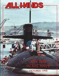 All Hands; October 1995 Volume 75, Issue 879 by Navy Department, Bureau of Navigation