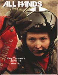 All Hands; March 1997 Volume 77, Issue 896 by Navy Department, Bureau of Navigation