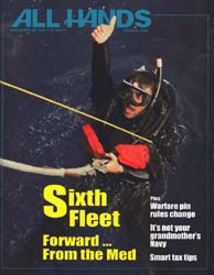 All Hands; March 1998 Volume 78, Issue 908 by Navy Department, Bureau of Navigation