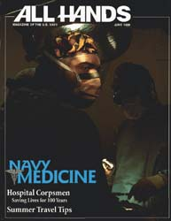 All Hands; June 1998 Volume 78, Issue 911 by Navy Department, Bureau of Navigation