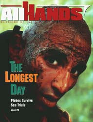 All Hands; August 1999 Volume 79, Issue 925 by Navy Department, Bureau of Navigation
