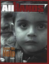 All Hands; November 1999 Volume 79, Issue 928 by Navy Department, Bureau of Navigation
