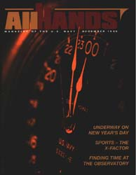 All Hands; December 1999 Volume 79, Issue 929 by Navy Department, Bureau of Navigation