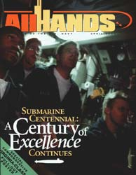 All Hands; April 2000 Volume 80, Issue 933 by Navy Department, Bureau of Navigation