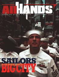 All Hands; September 2000 Volume 80, Issue 938 by Navy Department, Bureau of Navigation